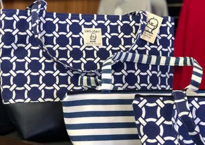 blue bag made locally